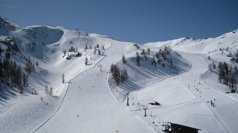 wintersport piste