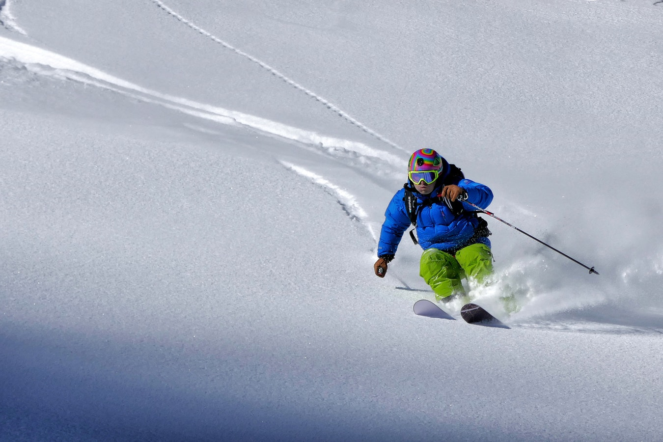 wintersport in Alberta
